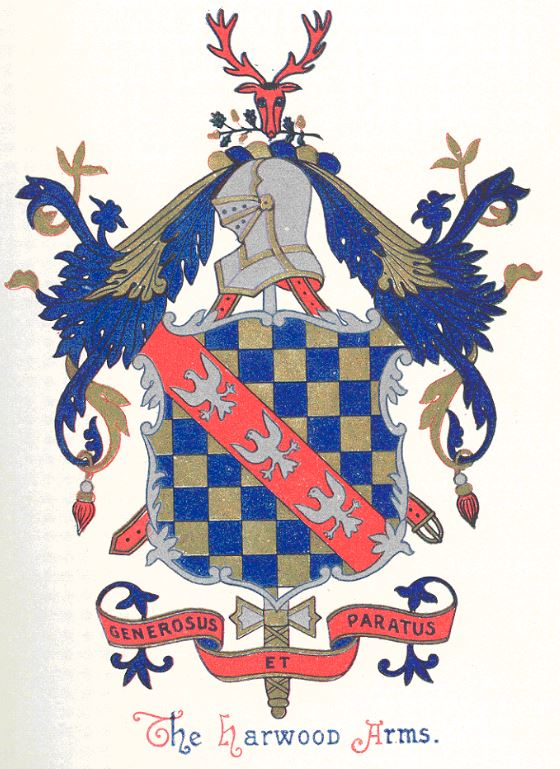 Harwood coat of arms