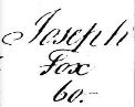 Last Will of Joseph Fox (1758-1832)