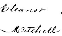 Death entry for Eleanor Rowland Downing