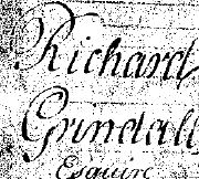 Last Will of Richard Grindall, Physician at the London Hospital 1757-1797. Signed 21 March 1795, proved 20 Apr 1797