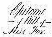 Last will of Sophia James Fox (1798-1875)