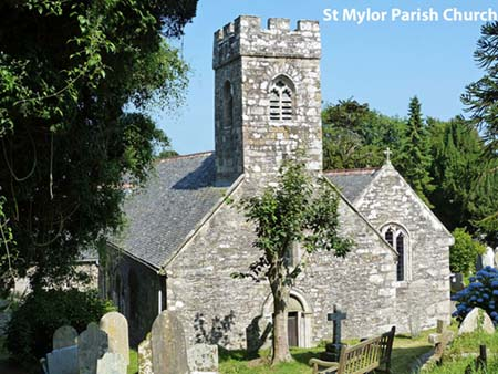 Parish Church and Graveyard Mylor