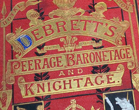 Debrett's complete Peerage of the United Kingdom of England and Ireland