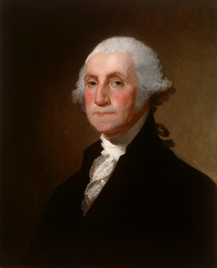 1st President George Washington