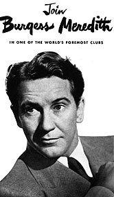 Oliver Burgess Meredith