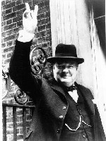 Prime Minister Winston Leonard Spencer-Churchill