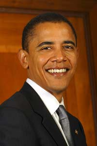 44th President Barack Hussein Obama