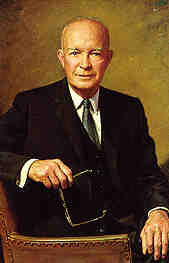 34th President Dwight David Eisenhower