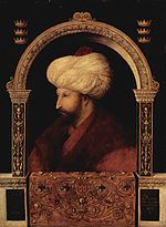 Sultan Mehmed, II, 'the Conqueror'
