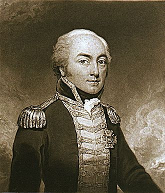 Admiral George Johnstone Hope