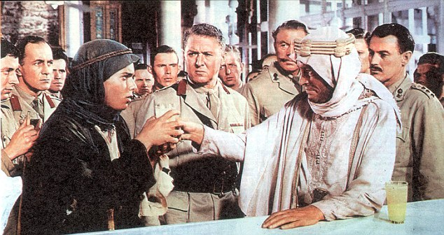 child actor, Michel de Carvalho played the role of Arab boy Farraj opposite Peter O'Toole in the classic film Lawrence Of Arabia in 1962
