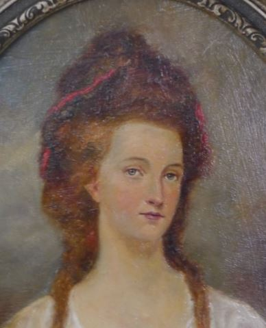 Miniature either of Harriet Grindall or Sara Fuller-Harnett